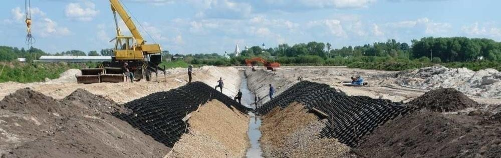 Инженерная подготовка и защита территории