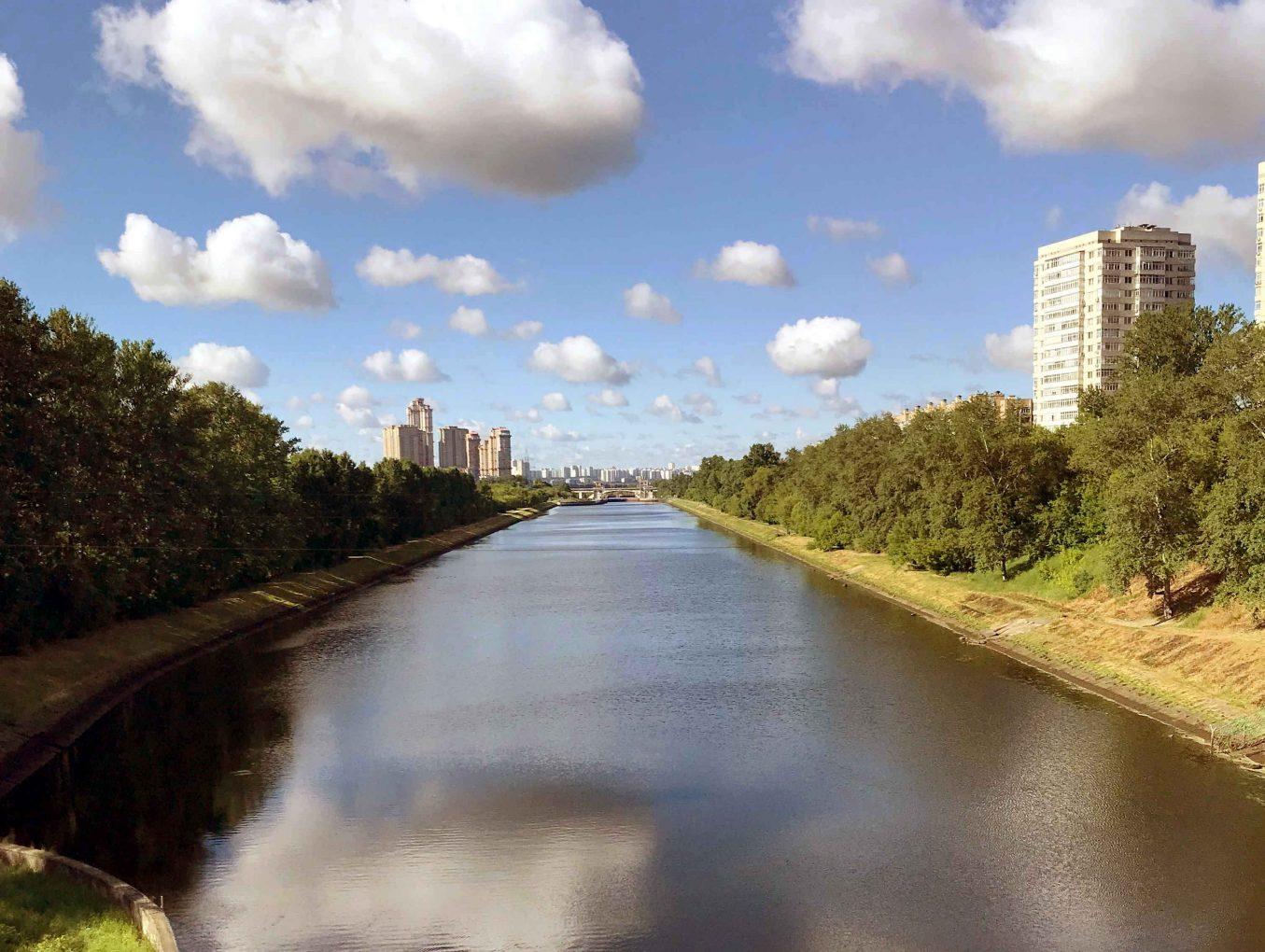 Характеристика гидросети города Москва